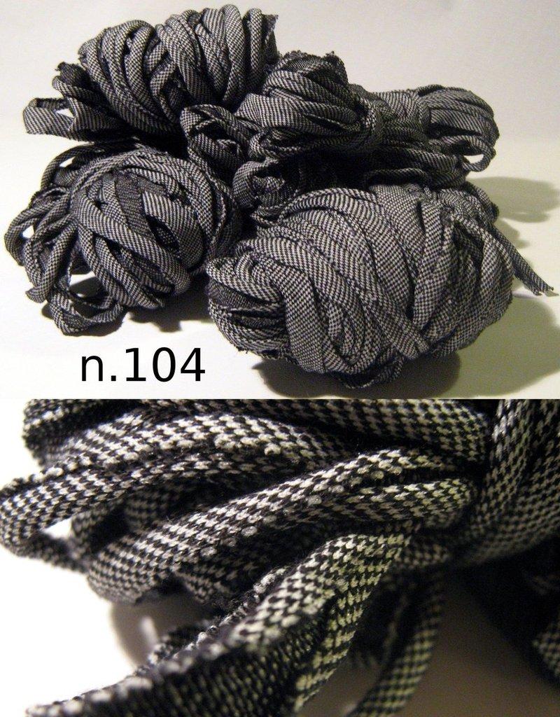 Filato di Jersey jeans nero n.104 - 9.6mt