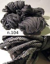 Filato di Jersey jeans nero n.104 -18.2mt