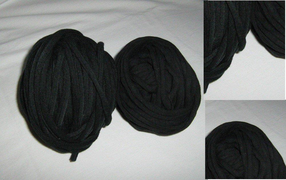10mt Filato di Jersey nero n.111