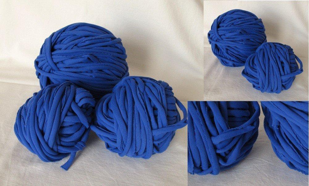 Filato di Jersey azzurro n.115 - 13.5mt