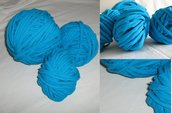 Filato di Jersey verde/blu n.118 - 11.3mt