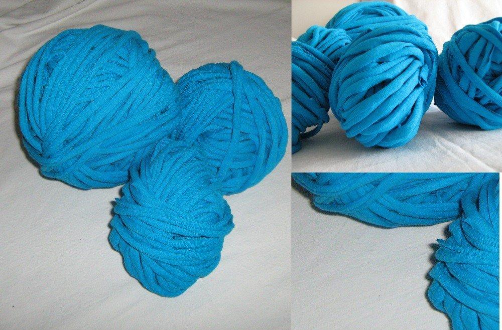 Filato di Jersey verde/blu n.118 -19.8mt