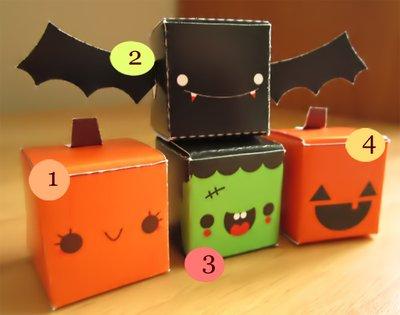 BOX HALLOWEEN SORPRESA REGALO cernit fimo handmade polymer clay