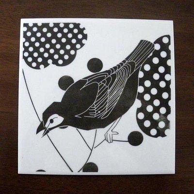 Piastrella Ceramiche con stampa a mano screenprinting