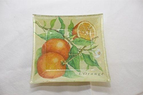 """Piatto """"arancia"""""""