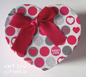 Caja corazon para packaging
