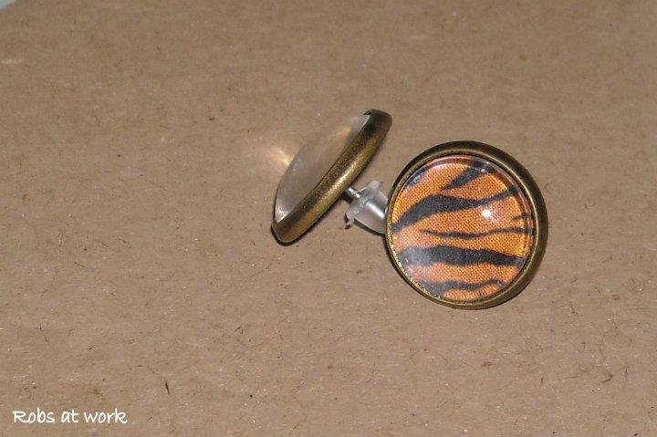 orecchini tigre