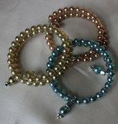 bracciali in perle bohemia