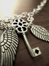 Angelic wing Necklace