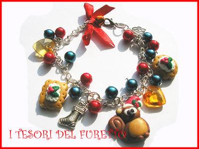 Bracciale Natale Fufusquit scoiattolino charm natalizi bijoux 2011 idea regalo