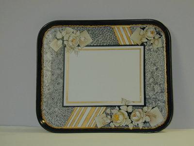 vassoio porcellana dipinto a mano