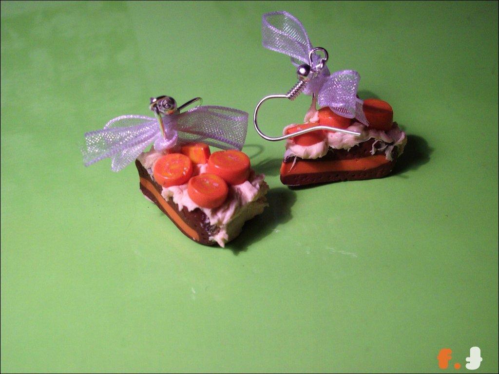 ORANGE CAKE orecchini