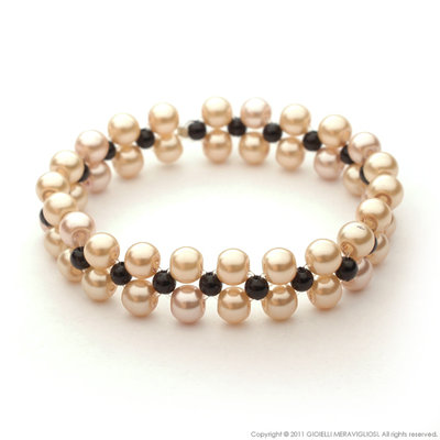 """""""Black pearls"""" bracelet"""