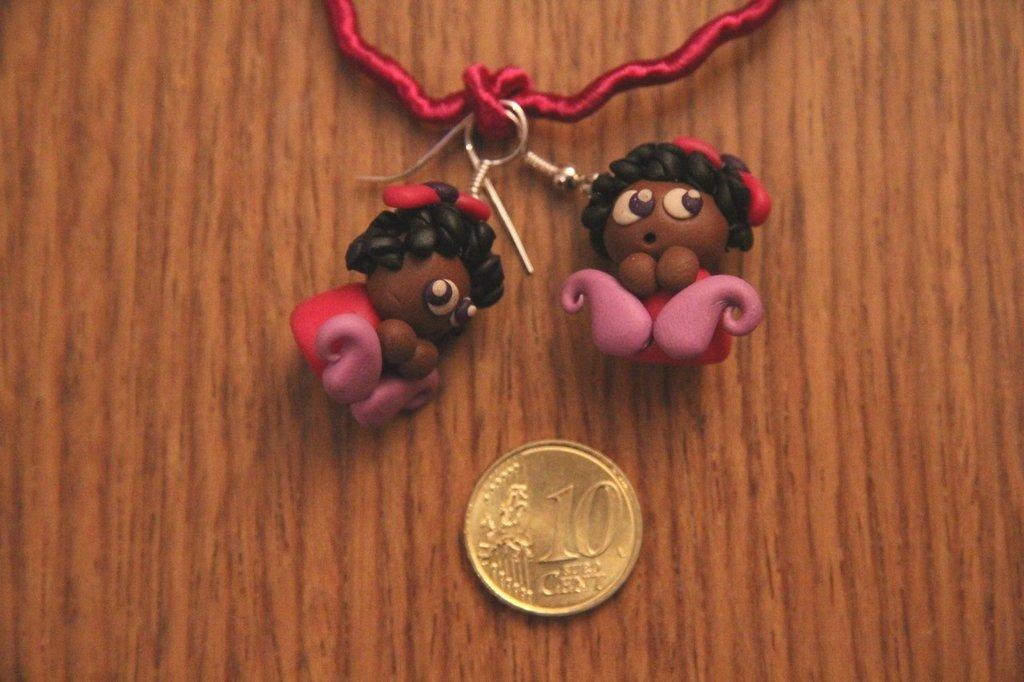 Orecchini bamboline... dolci dolci!