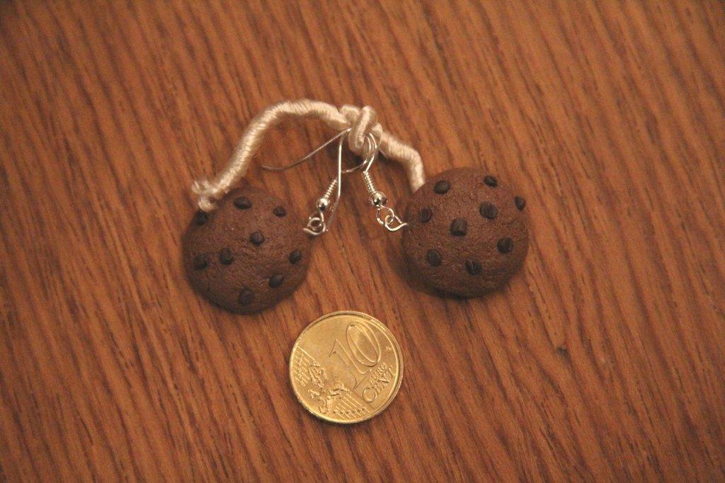 Orecchini biscottini... buoooooni!!!