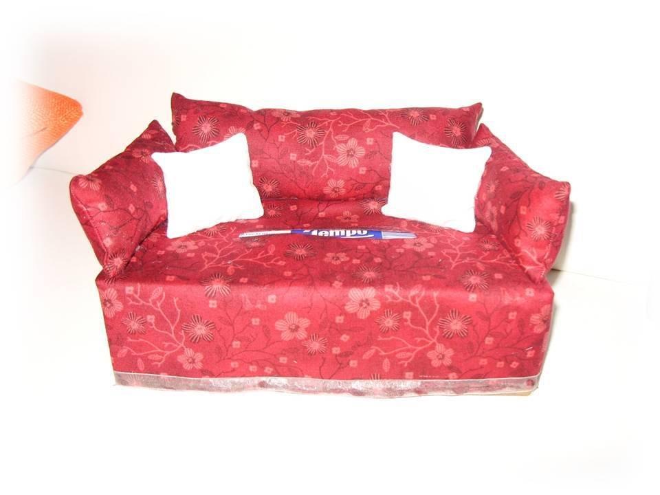 Divanetto porta kleenex- sofà portafazzoletti