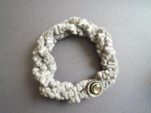 Collana in feltro