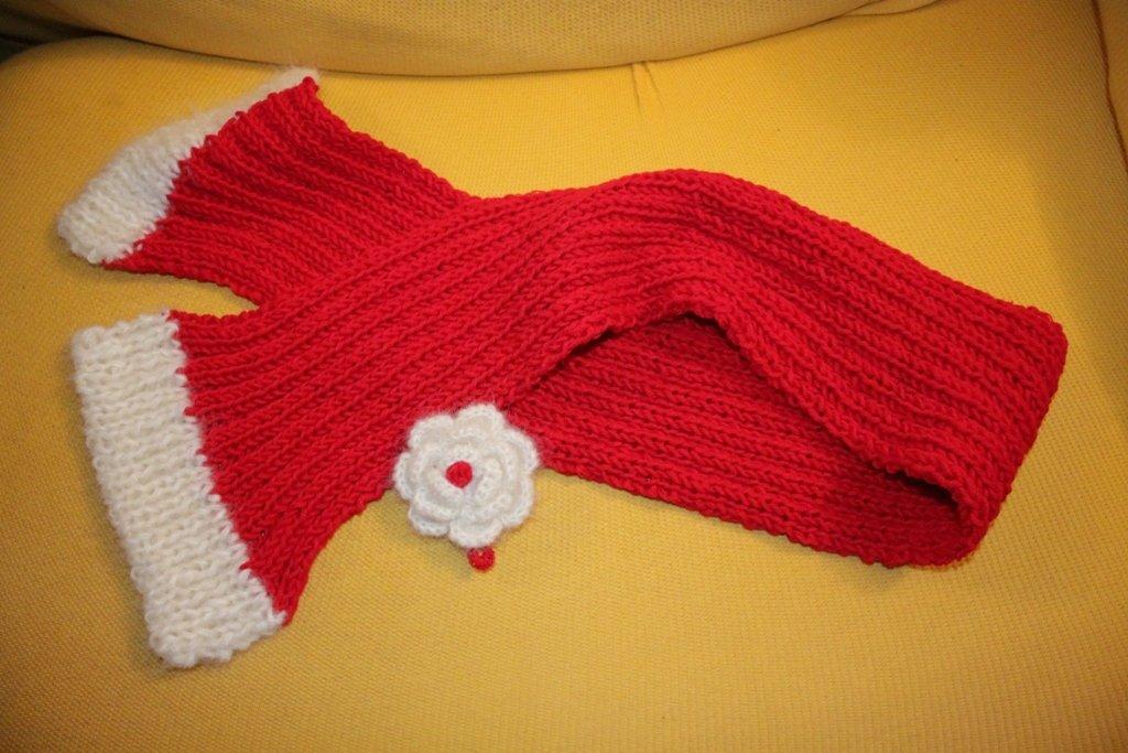 sciarpa per bimba