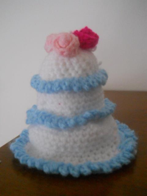 torta amigrumi