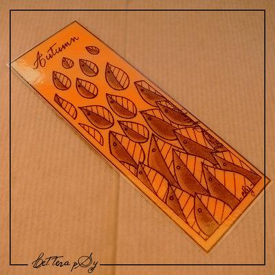 """""""Autumn"""" - segnalibro handmade personalizzabile"""