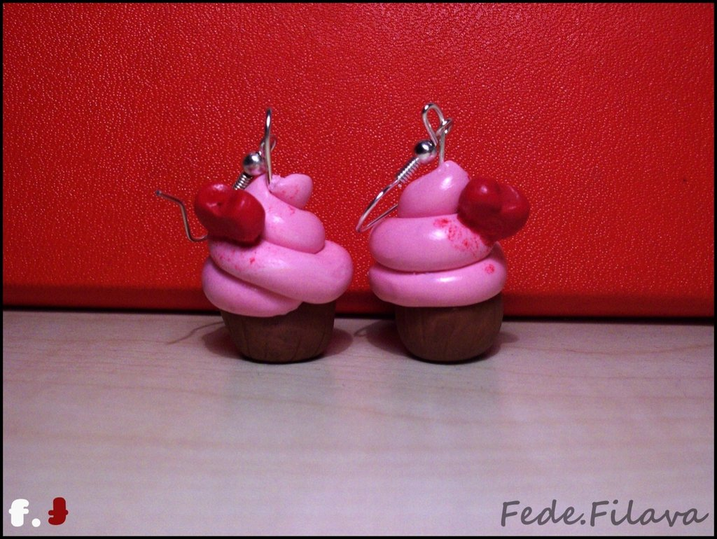orecchini LOVE CUPCAKE