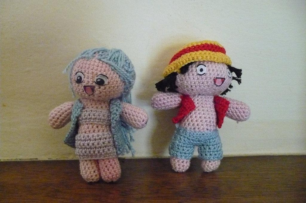 Bamboline Rufy e Bibi