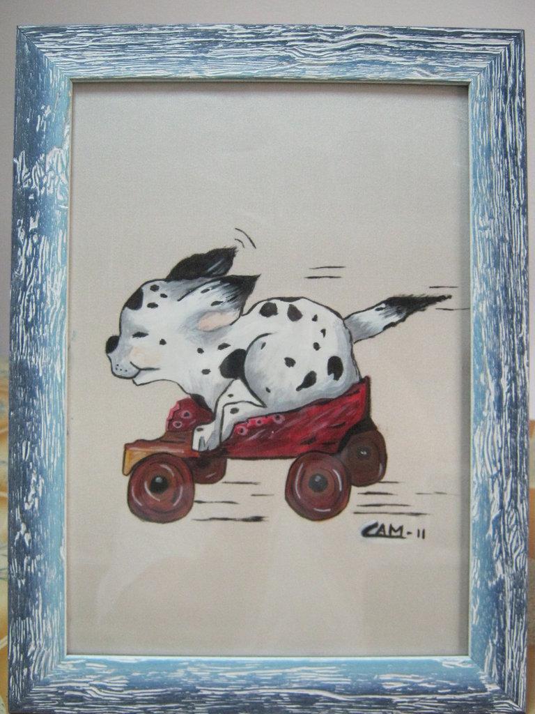cane spericolato