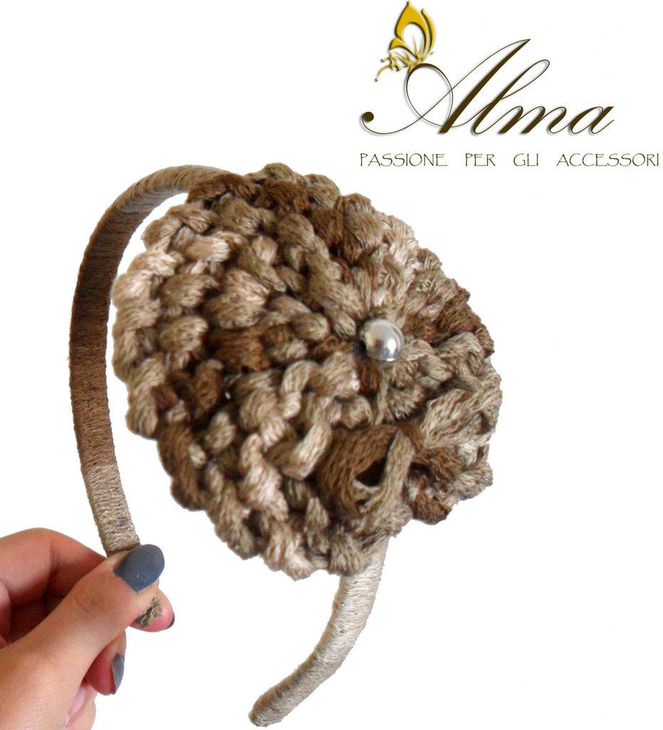cerchietto lana