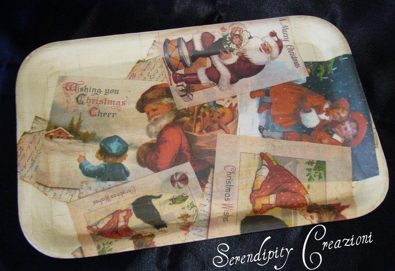 Vassoietto Cartoline di Natale