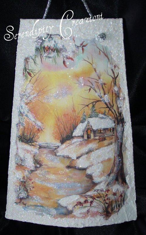 Coppo Paesaggio Invernale