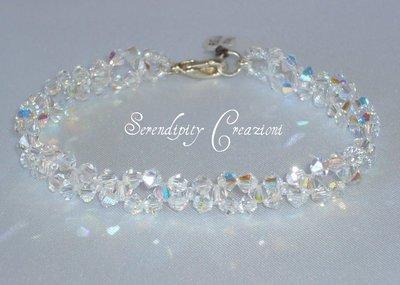 Bracciale Simply Swarovski Elements Cristal Boreale, braccialetto