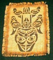 canvas tribale