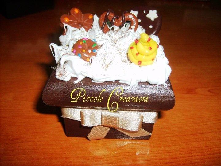 Scatola con dolcetti