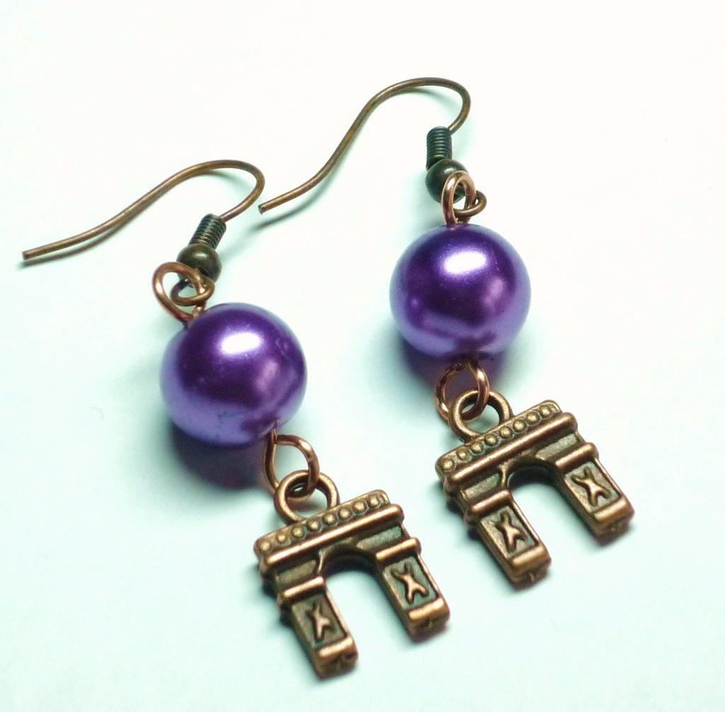 Arc de Trionphe and Purple Pearl