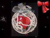 natale decorazione palla