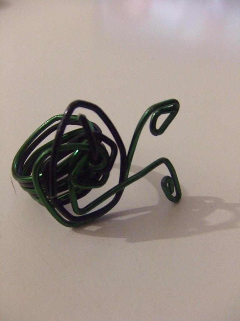 Amanecer en verde y negro