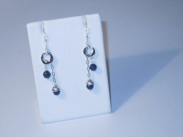Blue Moon orecchini