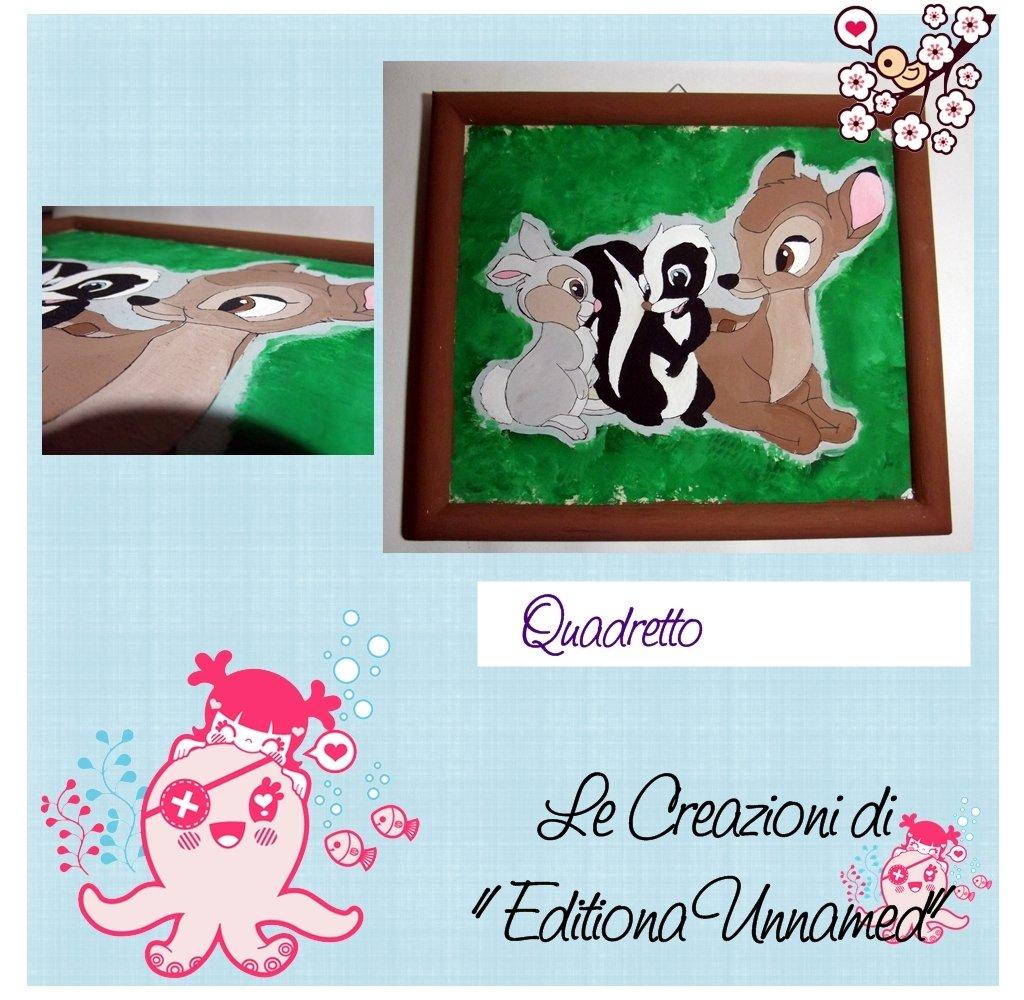 Quadretto Bambi