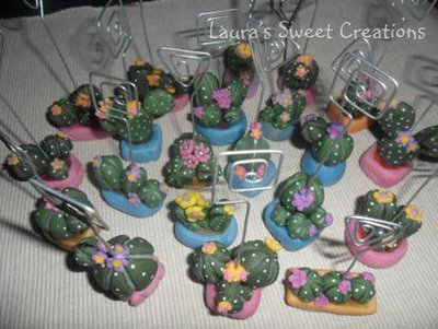 Cactus portamemo