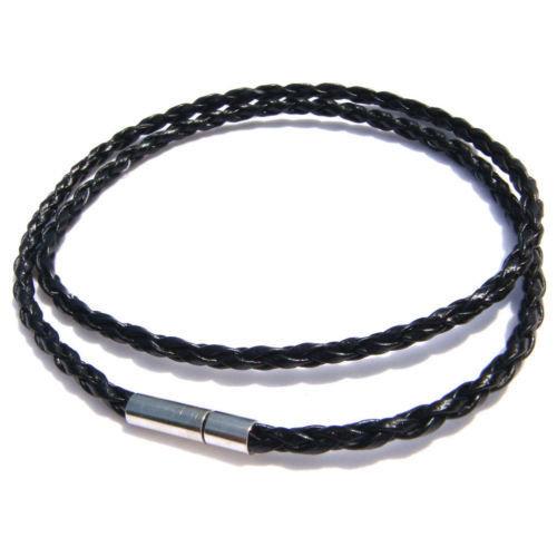 collana girocollo in treccia 45 cm