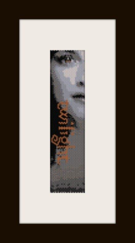PDF schema bracciale twilight in stitch peyote pattern - solo per uso personale .