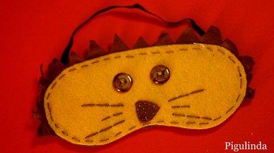 Mascherina per dormire: Leone - Eye mask Lion