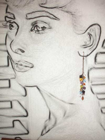 orecchini full color