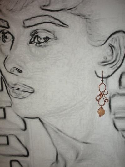 orecchini petalo