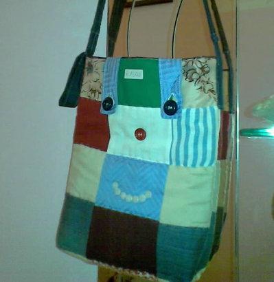 borsa patchwork