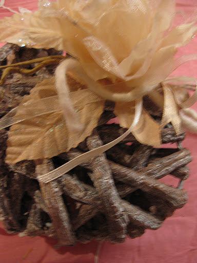 Cuore decorativo in legno