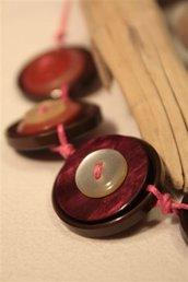 Collana Magia di Bottoni - Bottoni Vintage anni 50