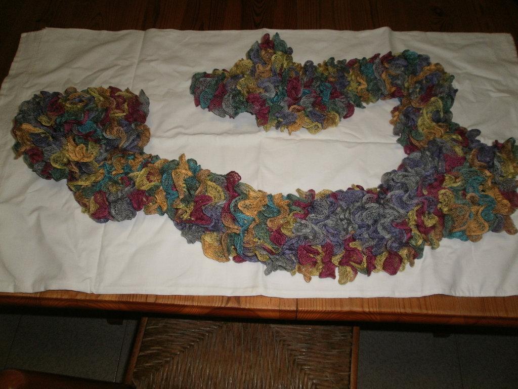 sciarpa ondine multicolor