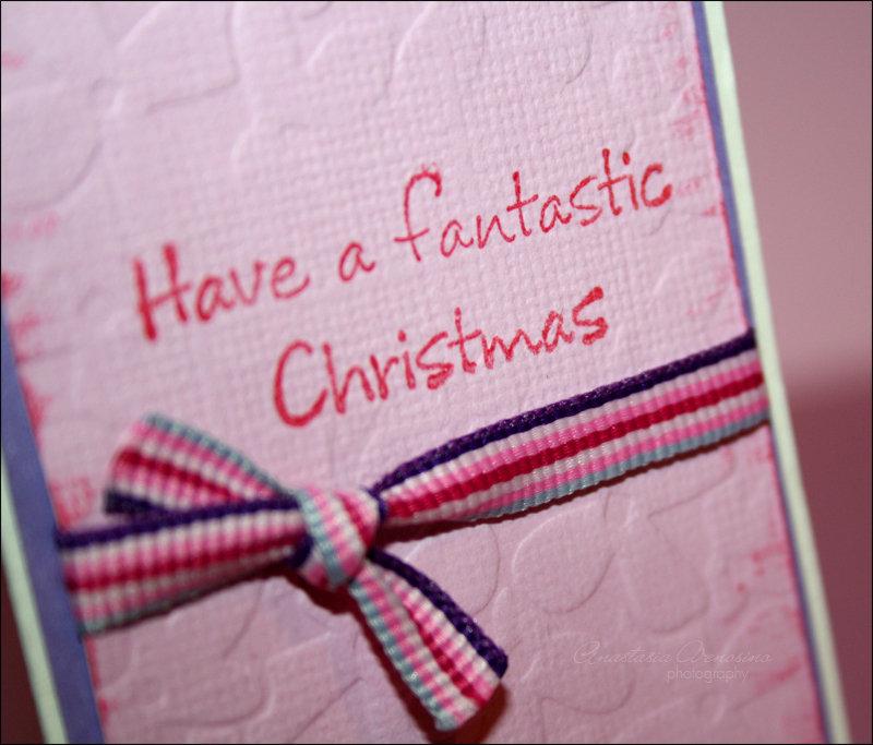 "Bigliettino ""Fantastic Christmas"""