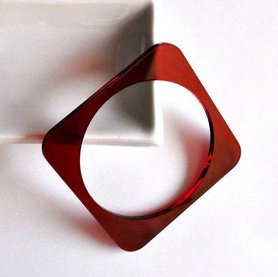 Bracciale in Plexiglass - tondo o quadrato